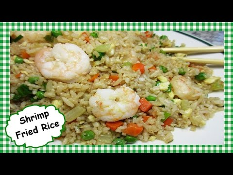 🍤 How To Make Shrimp Fried Rice ~ Chinese Fried Rice Stir Fry Recipe
