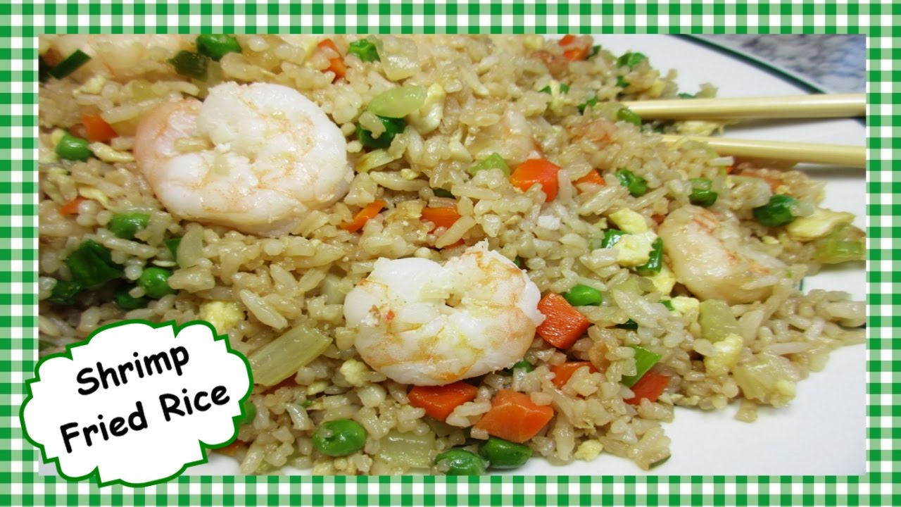how to make shrimp fried rice chinese fried rice stir fry how to make shrimp fried rice chinese fried rice stir fry recipe youtube ccuart Images