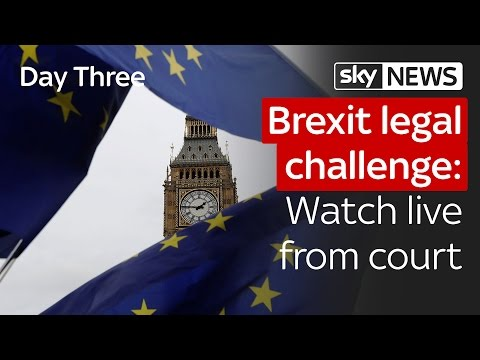Brexit legal challenge: Day three from court
