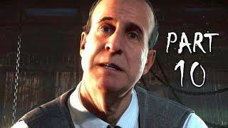 Until Dawn Walkthrough Gameplay Part 10 - Dread (PS4)