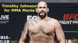 Timothy Johnson Interview Before Cheick Kongo at Bellator 208