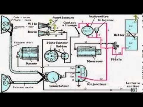 schema  u00e9lectrique autoradio youtube Volkswagen Beetle Wiring Diagram Super Beetle Wiring Diagram