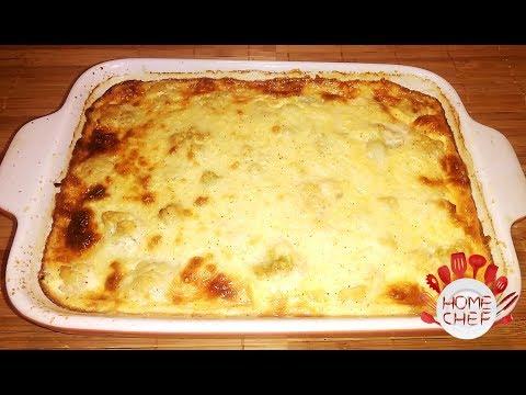 CHEESY CAULIFLOWER CHICKEN CASSEROLE RECIPE – DELICIOUS DINNER