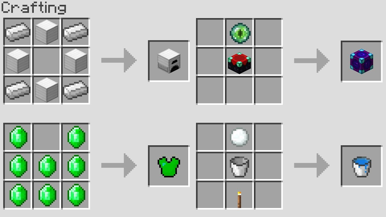 Book minecraft pdf recipe