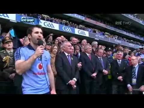 All Ireland Football Champions 2011: Dublin Captain Bryan Cullen's Speech