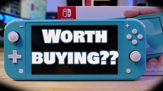 Is The Switch Lite Worth It? | Unboxing, Gaming and Review |