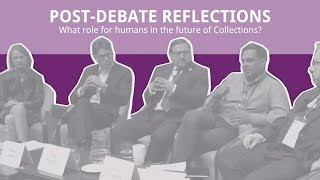 What role for humans in the future of Collections?