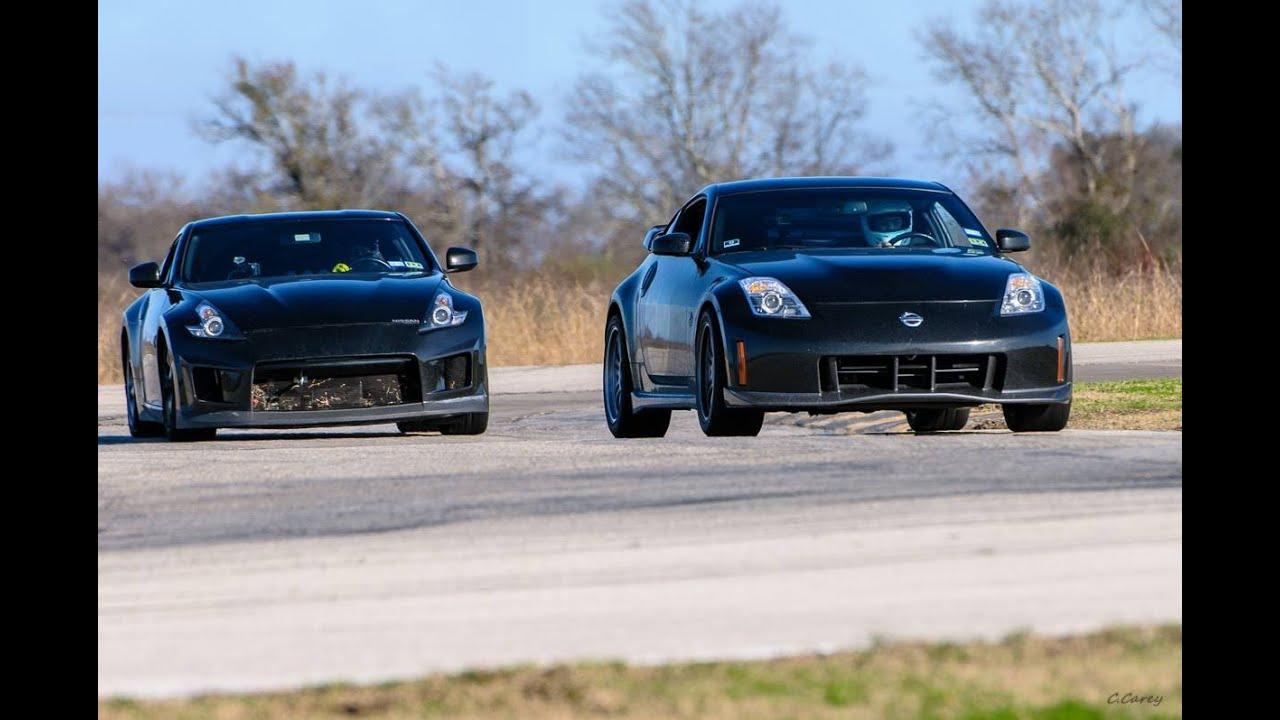 Houstonz S Track Day 2014 Msr Houston Ccw 350z Nismo