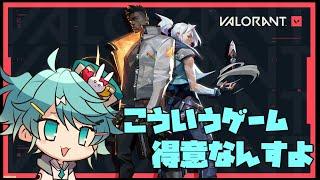 【VALORANT】新作FPSで無双したい!!する!!【ホロスターズ/鏡見キラ】