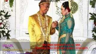 Video Sanggar Rias Pengantin Bekasi-0812-1234-6681-Pengantin Solo Putri-Ratih & Eko Kebaya Biru