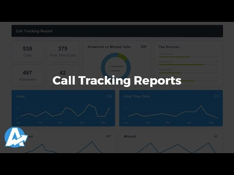 Call Tracking Reports for Agencies & Freelancers