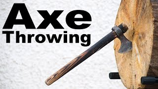 This Week I Learned to Throw an Axe by : Mike Boyd
