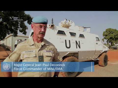 Interview with Major General Jean-Paul Deconinck, MINUSMA Force Commander