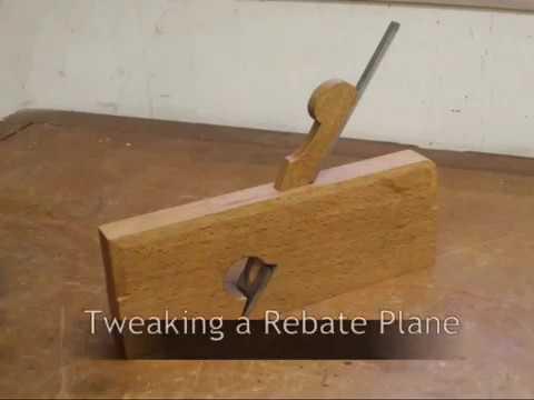 Tweaking a Rebate Plane