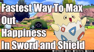 Pokemon SW/SH Tips: Fastest Way To Max Out Pokemon Happiness