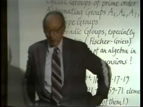 "Saunders Mac Lane: ""Mysteries and Marvels of Mathematics"""