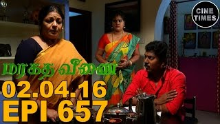 Marakatha Veenai 02.04.2016 Sun TV Serial