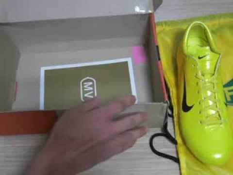 c58a299c7 Nike Mercurial Vapor III FG R9 Yellow/Chrome LIMITED EDITION! UNBOXING! -  YouTube