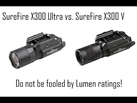 SureFire X300 Showdown: Do not be confused by the models/options
