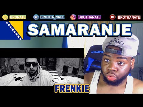 CANADIAN REACTS to BOSNIA RAP | Frenkie ft. Dj Mrki - Samaranje (Official video)
