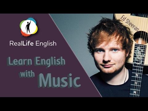 Learn English with Music - Shape of You (Ed Sheeran)