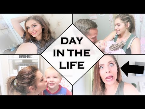 DAY IN THE LIFE ll YOUNG MOM OF TWO AND ARMY WIFE ll SAHM