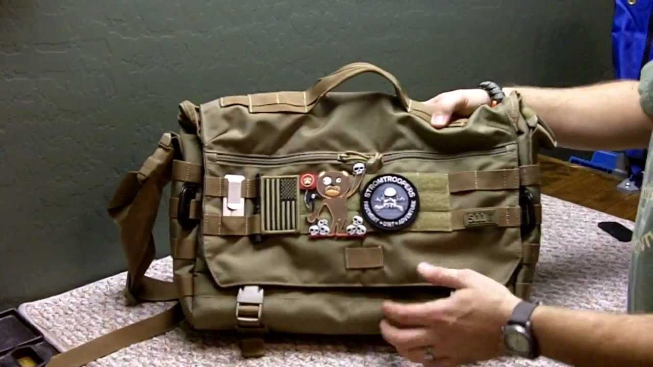 5 11 Tactical Rush Delivery Messenger Bag