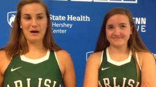 Carlisle talks bumps, bruises and breaks that come with field hockey