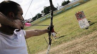 Трик-шоты: стрельба из лука / Archery Trick Shots
