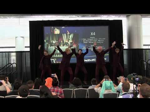 FanimeCon 2017 Opening Ceremonies - X4: Rockin' It