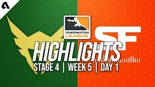 Los Angeles Valiant vs San Francisco Shock | Overwatch League Highlights OWL Stage 4 Week 5 Day 1