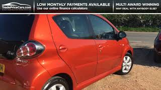 2013 TOYOTA AYGO 1.0 VVT-I FIRE AC FOR SALE | CAR REVIEW VLOG