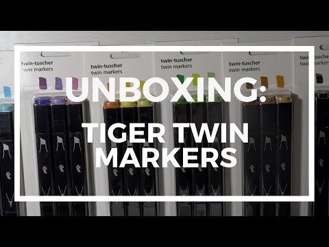 Unboxing: Flying Tiger copenhagen Twinmarkers