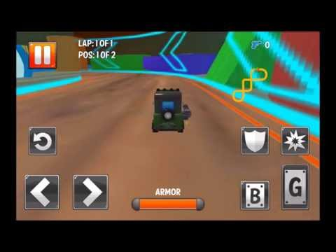 Turbo Toys Racing - Gameplay Video