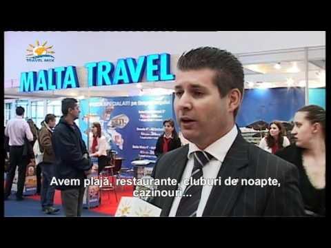 Targ Turism Romexpo 2012 Jesmond Debono, reprezentant Intercontinental Hotel Malta