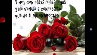 Rosas rojas de amor