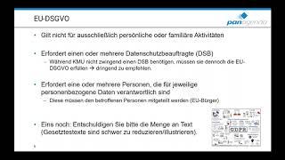 Webinar: Wappnen Sie sich mit panagenda für die EU-DSGVO