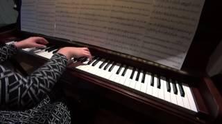 하울의 움직이는 성 OST - 인생의 회전목마 피아노연주 / Howl