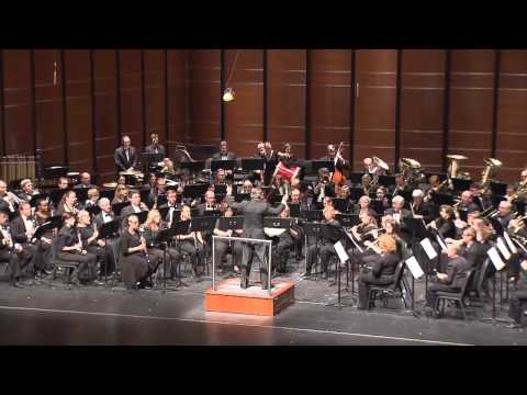 Austin Symphonic Band Performing Canzona by Peter Mennin