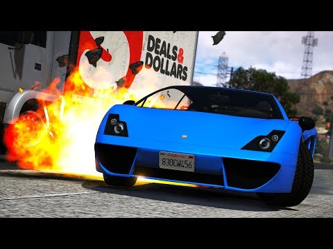 EXPLODING A $350,000 SUPER CAR! (GTA 5 Roleplay)