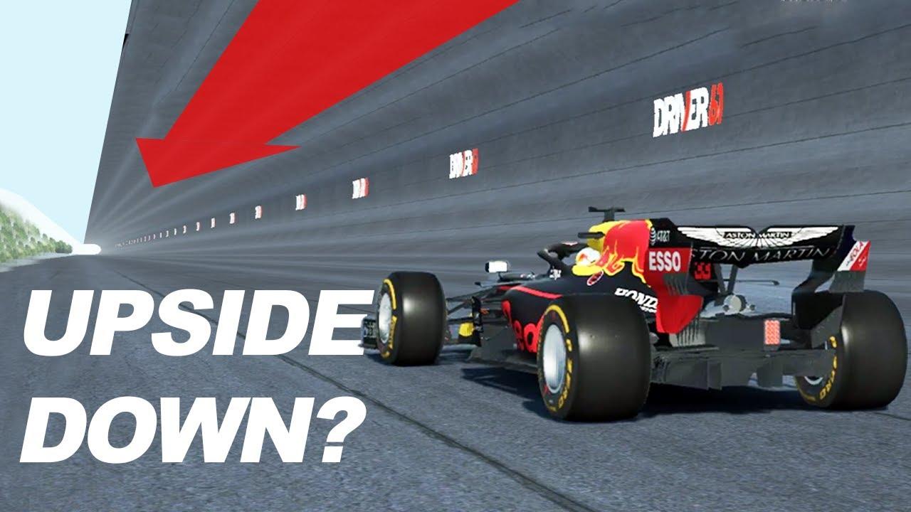 Driver61: Can an F1 Car Drive Upside Down?