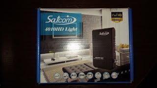Огляд і розпакування тюнера Satcom 4010 hd lite