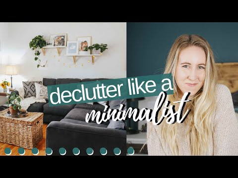 MINIMALIST DECLUTTERING TIPS // HOW TO DECLUTTER YOUR HOME // Tory Stender