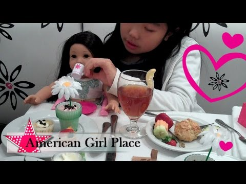Afternoon Tea - American Girl Place Chicago