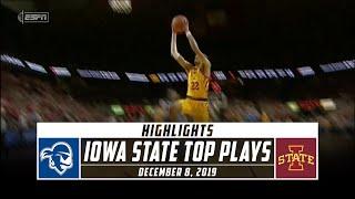 Iowa State Top Plays vs. No. 16 Seton Hall (2019-20)   Stadium
