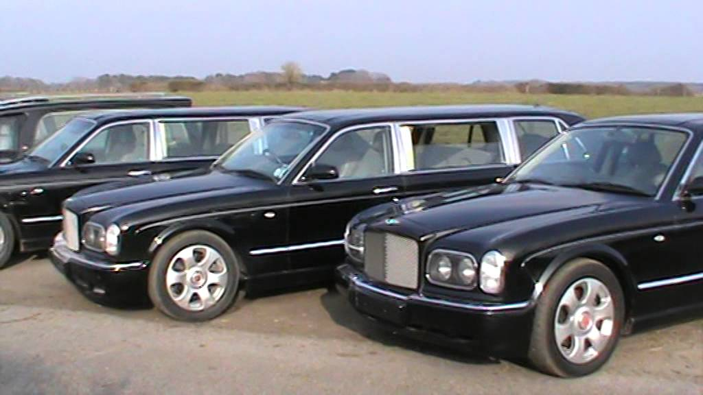 Bentley Limousine and Hearse's - YouTube