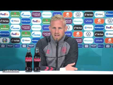 """""""Has it ever come home?"""" -  Schmeichel & Højbjerg's Pre-England Press Conference"""