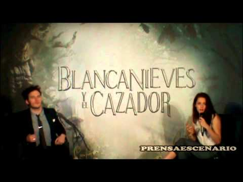 KRISTEN STEWART -  SAM CLAFLIN -  CONFERENCIA - MEXICO - SNOW WHITE