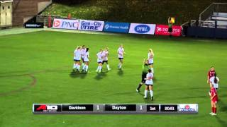 Highlights: Women's Soccer vs Davidson 10-8-15
