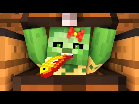 Zombie vs Villager Life 8 - Alien Being Minecraft Animation